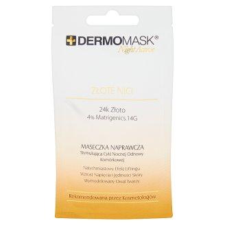 Dermomask Night Active Złote Nici Maseczka naprawcza 12 ml