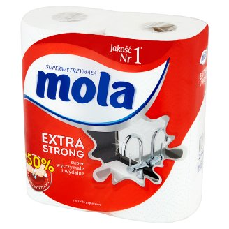 Mola Extra Strong Paper Towels 2 Rolls