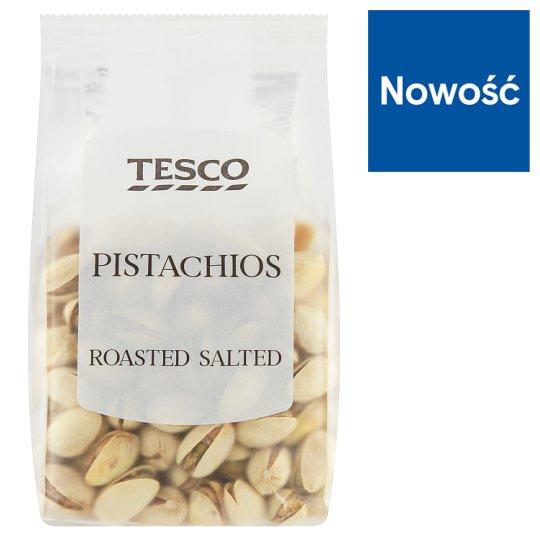 Tesco Pistacje niełuskane prażone solone 200 g