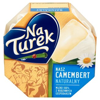 NaTurek Nasz Camembert Natural Cheese 120 g