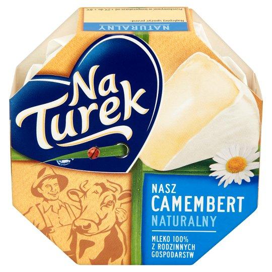 NaTurek Nasz Camembert Natural Cheese 120 g
