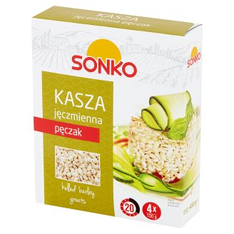 Risana Barley Groats 400 g (4 Bags)