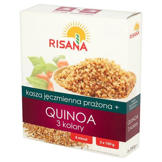 Risana Roasted Barley + Quinoa 3 Colors 200 g (2 Bags)