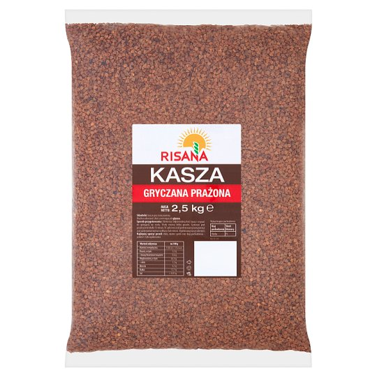 Risana Roasted Buckwheat Groats 2.5 kg