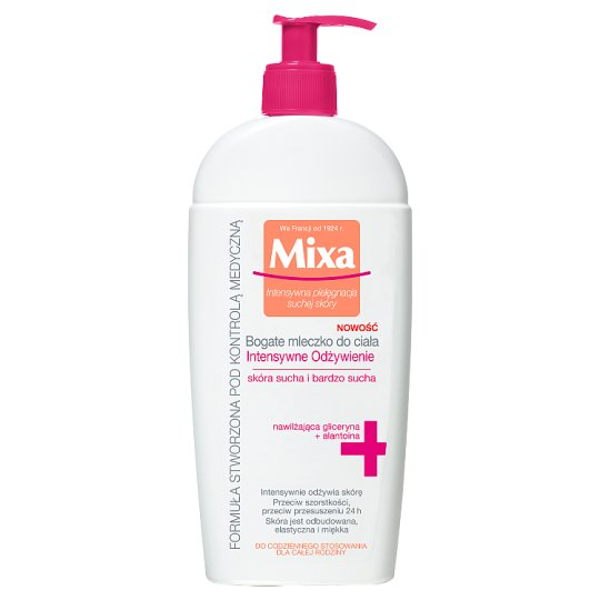 Mixa Intense Nutrition Body Milk 400 ml
