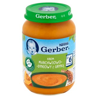 Gerber Carrot-Pumpkin Cream with Buckwheat after 6 Months Onwards 190 g