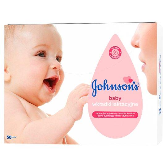 Johnson's Baby Wkładki laktacyjne 50 sztuk
