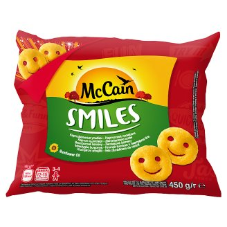 McCain Smiles Potato Faces 450 g