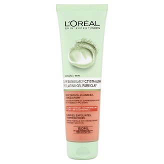 L'Oreal Paris Skin Expert Żel peelingujący czysta glinka 150 ml