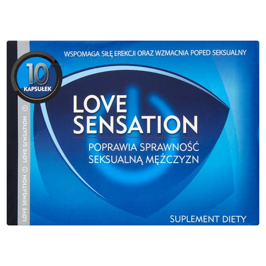Love Sensation Dietary Supplement for Men 4.02 g (10 Capsules)