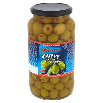 Giana Spanish Green Olives Stuffed with Pimiento Paste in Brine 935 g