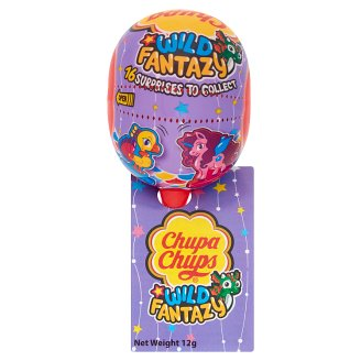 Chupa Chups Water Dinos Strawberry Flavoured Lollipop 12 g