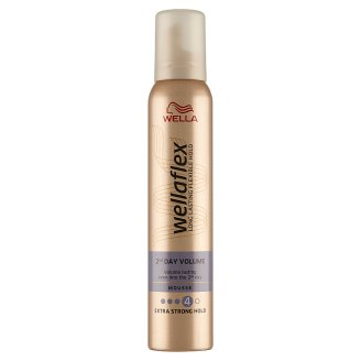 Wella Wellaflex 2-Days-Volume Extra Strong Hold Mousse 200 ml
