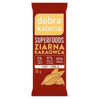 Dobra Kaloria Superfoods Cocoa Nibs Fruit Bar 35 g