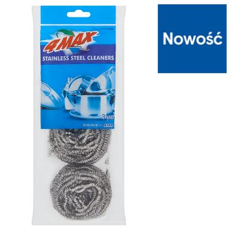 4MAX Stainless Steel Cleaners 3 Pieces