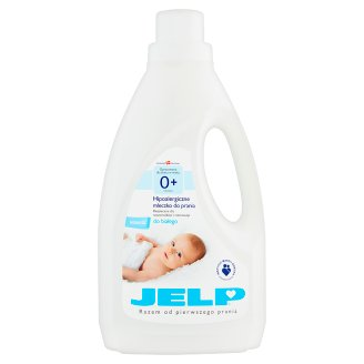 JELP 0+ Hypoallergenic Washing Milk to White 1.5 L (18 Washes)