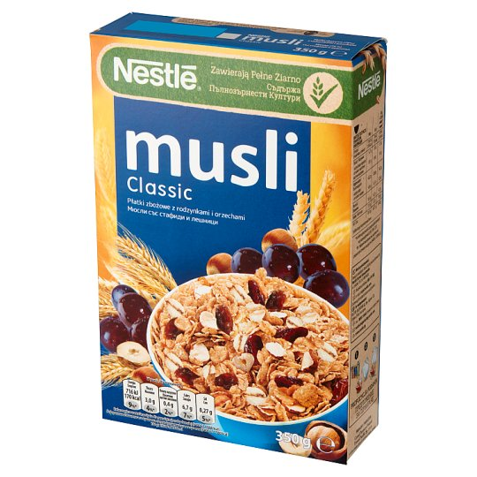 Nestlé Musli Classic Cereals with Raisins and Nuts 350 g