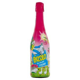 Piccolo Cherry Napój bezalkoholowy gazowany o smaku wiśniowym 750 ml