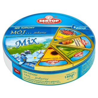 Sertop Tychy My... Delicious Mix Processed Cheese 140 g (8 Portions)
