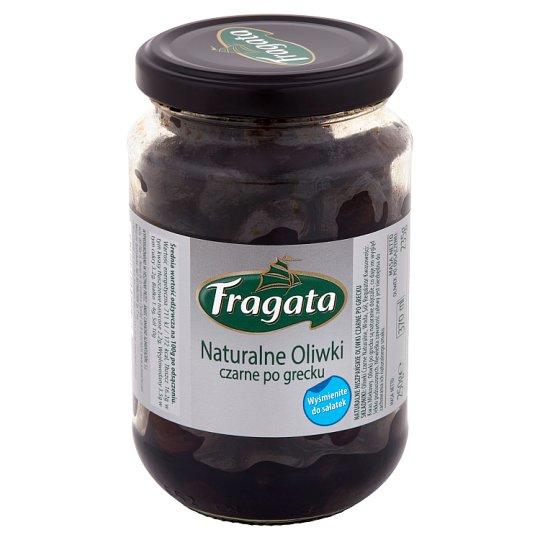 Fragata Naturalne oliwki czarne po grecku 250 g