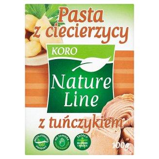 Koro Nature Line Pasta z ciecierzycy z tuńczykiem 100 g