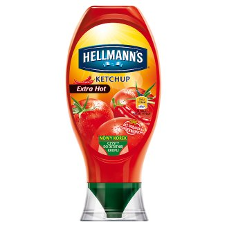 Hellmann's Extra Hot Ketchup 450 g