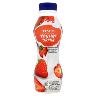 Tesco Strawberry Yogurt Drink 350 g