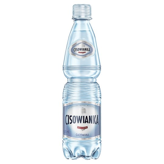 Cisowianka Natural Mineral Low-Sodium Sparkling Water 0.5 L
