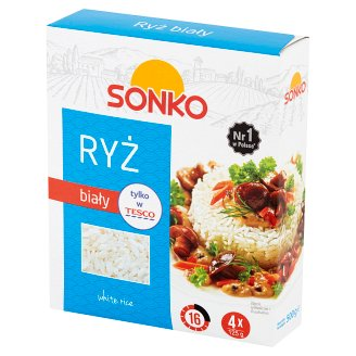 Risana Long Grain White Rice 500 g (4 Bags)