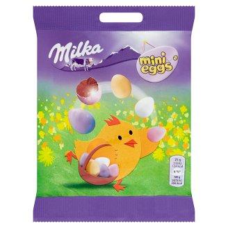 Milka Mini Eggs Milk Chocolate Dragees 100 g