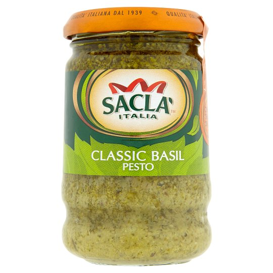 Sacla' Classic Basil Pesto 190 g