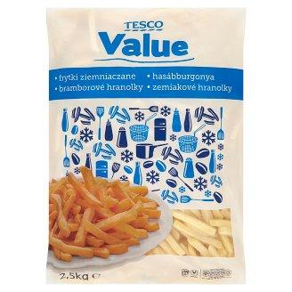 Tesco Value Frytki ziemniaczane proste 2,5 kg