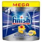 Finish Quantum Max Lemon Kapsułki do mycia naczyń w zmywarce 992 g (64 sztuki)