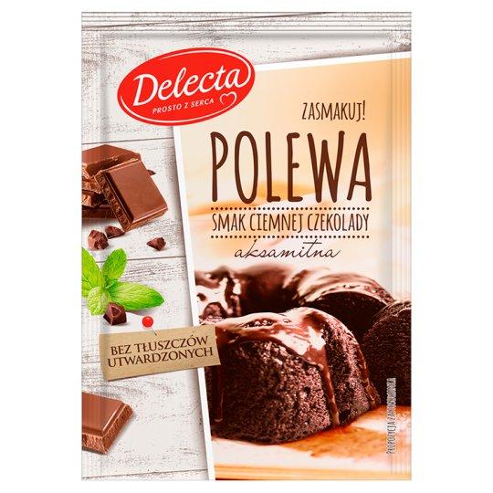 Delecta Polewa smak ciemnej czekolady 100 g