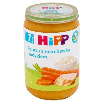 HiPP BIO Risotto z marchewką i indykiem po 7. miesiącu 220 g