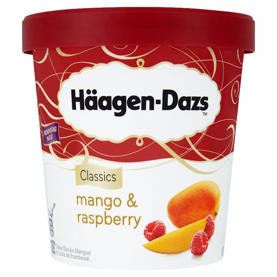 Häagen-Dazs Mango & Raspberry Lody 500 ml