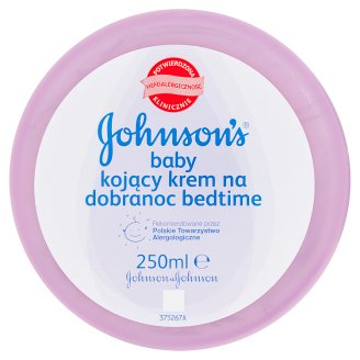 Johnson's Baby Bedtime Soothing Cream 250 ml