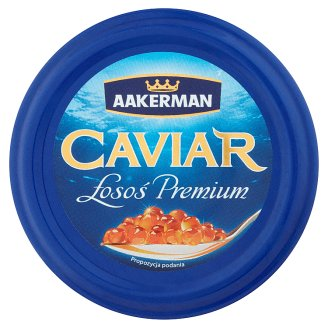 Aakerman Caviar Łosoś Premium Kawior 100 g