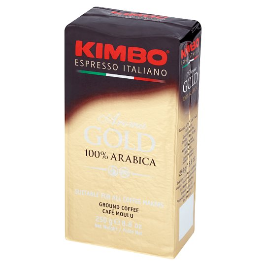 Kimbo Aroma Gold 100% Arabica Ground Coffee 250 g