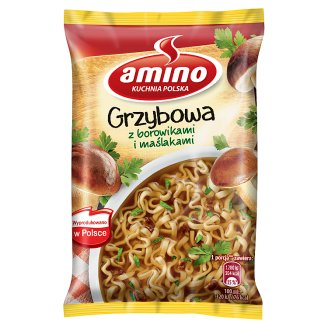Amino Mushrooms with Boletus Instant Soup 57 g