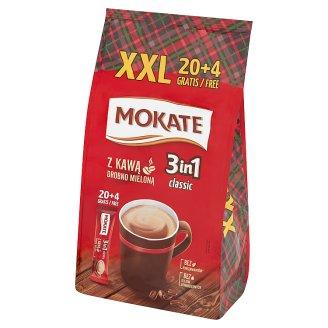 Mokate Caffetteria 3in1 Classic Coffee Drink in Powder 408 g (24 x 17 g)