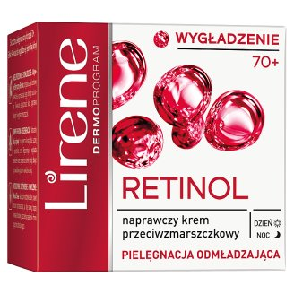 Lirene Retinolowe Odżywienie 70+ Repair Anti-wrinkle Day and Night Cream 50 ml