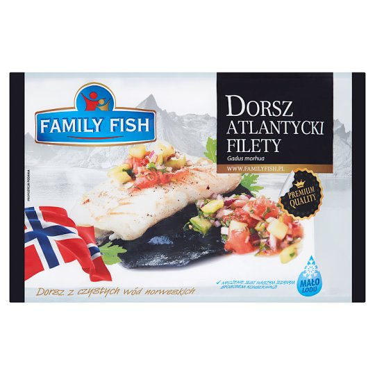 Family Fish Fillets Atlantic Cod 900 g