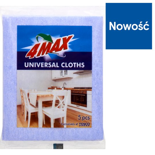 4MAX Universal Cloths 5 Pieces