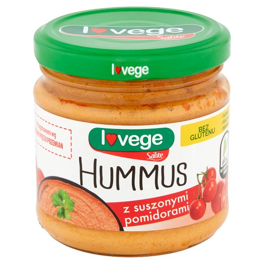 Sante Hummus with Dried Tomatoes 180 g