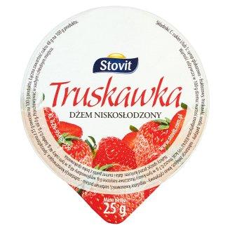 Stovit Truskawka Dżem niskosłodzony 25 g