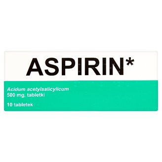 Aspirin 500 mg Tablets 10 Tablets