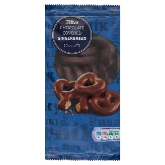 Tesco Chocolate Covered Gingerbread 500 g