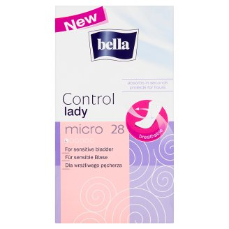 Bella Control Lady Micro Wkładki urologiczne 28 sztuk