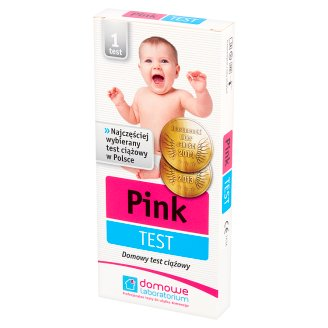 Domowe Laboratorium Pink Test Home Pregnancy Test